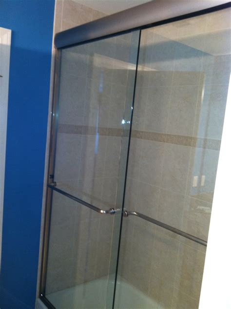 alternatives to glass shower doors sliding shower door - Alternatives To Glass Shower Doors
