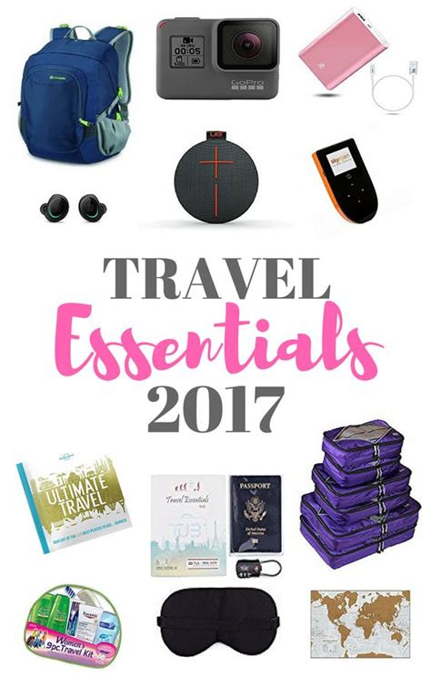 travel items essentials travel items for 2017 the viking abroad