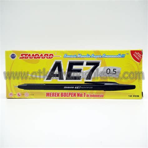 Standard Pen Ae7 Alfa Tip 0 5 jual alat tulis kantor murah surabaya 187 point pen