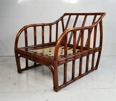Ficks Reed Chair by Ficks Reed Bamboo Sofa And Chair Deco For Sale At 1stdibs