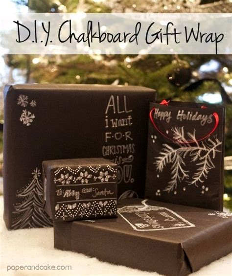 diy chalkboard gift wrap diy chalkboard gift wrap paper cake gift ideas