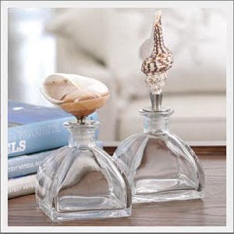 In A Bottle Seashells Sands Home Decor seaside inspired decor the side seashell bottle