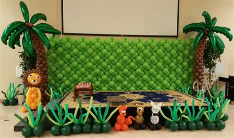 jungle theme decoration ideas jungle theme decoration in delhi gurgaon noida