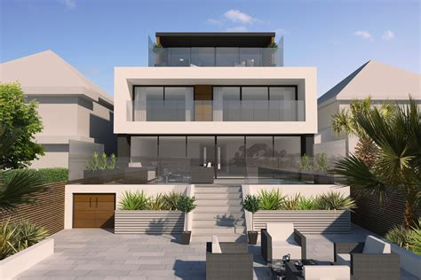 Styles Of Houses by David James Architects Amp Partners Ltd212 Sandbanks Road