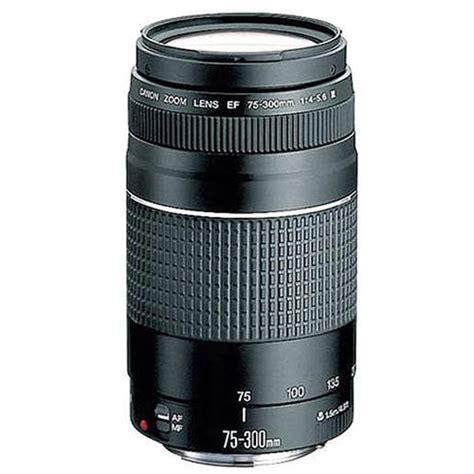 Canon Lens Ef 75 300 Mm F4 56 Iii Usm canon ef 75 300mm f 4 5 6 iii telephoto zoom lens