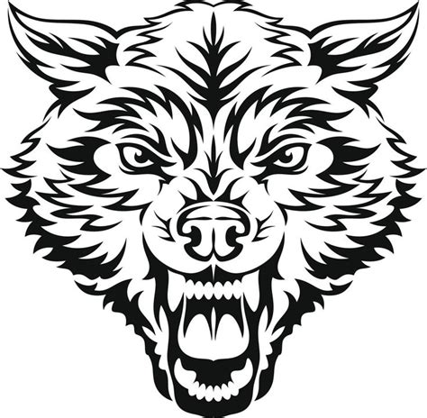 snarling wolf tattoo designs best 25 tribal wolf ideas on tribal wolf