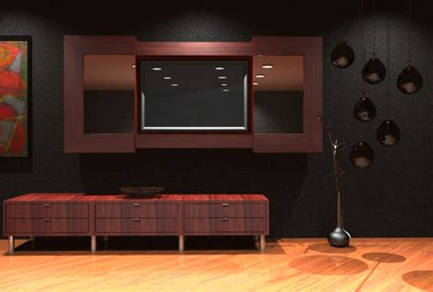 Lcd Tv Wall Cabinet Design by Lcd Tv Cabinet Furniture Designs An Interior Design