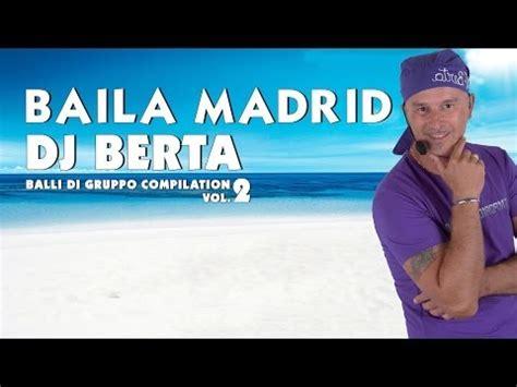 swing ballo di gruppo balli di gruppo dj berta baila madrid line