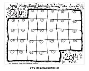 blank monthly calendar template 2014 free printable monthly calendar july 2014 printable
