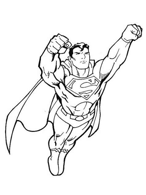 Coloriage Superman #4