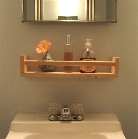 Bathroom Sink Storage Ideas Oh The Many Things You Can Do With A Spice Rack From Ikea I Can Do This Wooden