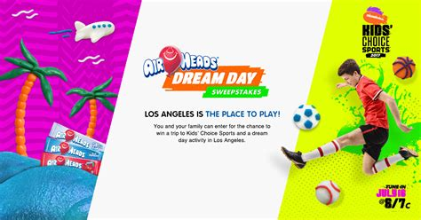 Nickelodeon Friendship Sweepstakes - nickelodeon kcs airheads dream sweepstakes