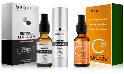 Serum Vitamin C Plus Collagen medpeel anti aging kit groupon goods