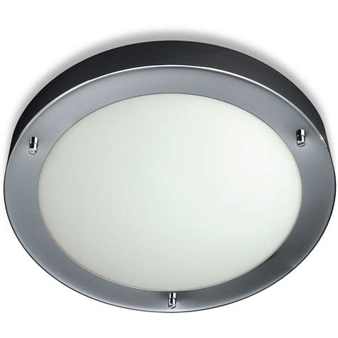 Light Bathroom Ceiling Philips 31 5cm Chrome Circ Qcz802ch Philips Bathroom Light