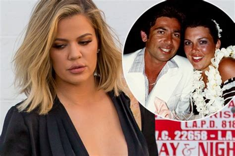 khloe kardashian and her real father khloe kardashian reveals kris jenner s affair destroyed