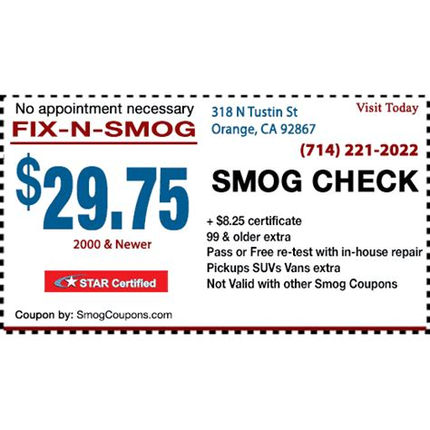 brake and l inspection near me fix n smog in orange ca 92867 citysearch