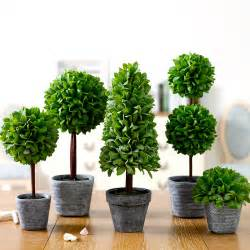 Decorative Plants For Home High Imitation Potted Holly Leaf Indoor Plants Decoration