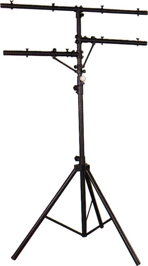 heavy duty light stand heavy duty adjustable dj disco lighting stand t bar new ebay