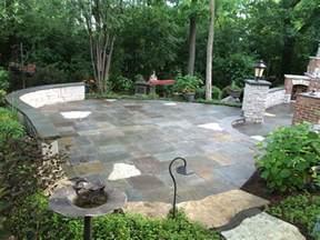 Natural Stone Patio Pavers Custom Paver Patio Gallery Conrades Landscape Design