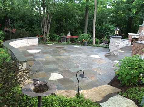 large paver patio custom paver patio gallery conrades landscape design