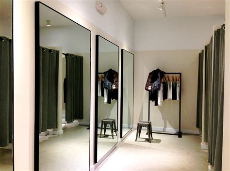 Store Dressing Room Ideas by File Theory Clothing Retailer Dressing Room Westport