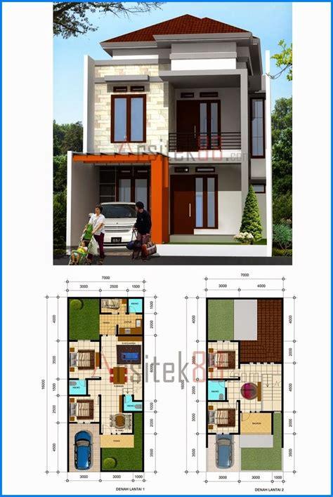 desain rumah minimalis 2 lantai denah rumah minimalis 2 lantai 8x12 proyek untuk dicoba