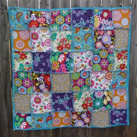 Quilting Edges by Frayed Edges Rag Quilt By Allison Murray Project