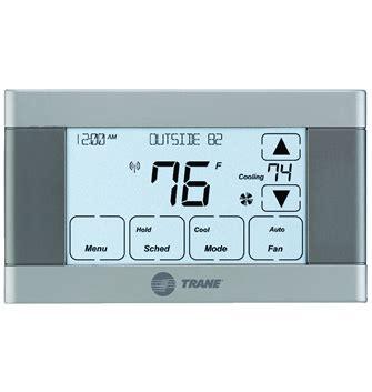 comfort controls manufacturer trane