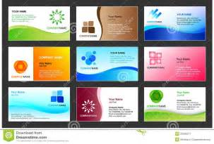 Business Card Design Templates Business Card Template Design Royalty Free Stock