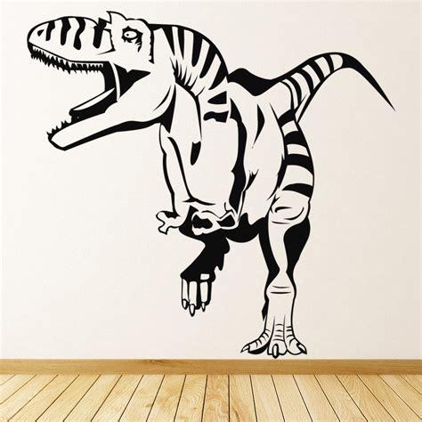 wall stickers home decor t rex wall sticker jurassic dinosaur wall decal