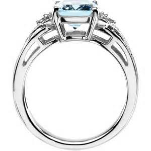 engagement aquamarine and ring pre engagement