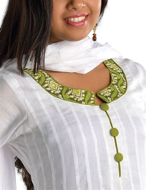 simple neck design pattern how to sew a triangle loop round neck for kurthi simple