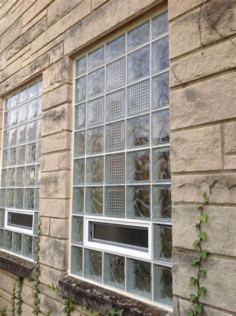 complain glass block basement windows