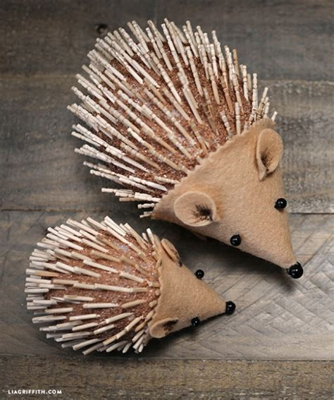 Pine Cone Home Decor Kids Diy Hedgehog Project By Lia Griffith Project