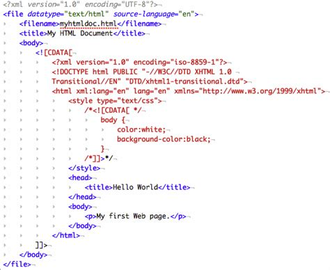 cdata section working with embedded cdata in xml documents