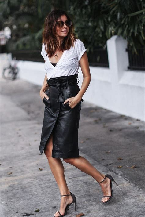 Ossa Blouse Ab 17 best images about leather skirt on
