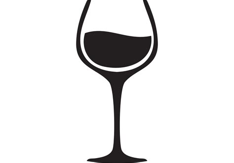 glass svg wine glass vector