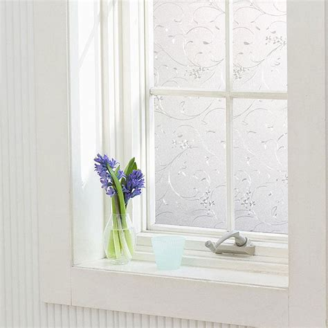 window glass cover professional adhesive waterproof static glass frosted