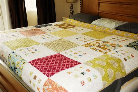 large pattern fabric quilt 100 days week of prints featured quilt 5 the modern