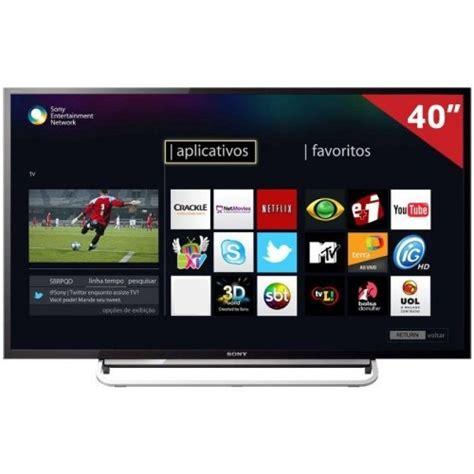 Sony Led 40 Smart Tv televisores sony kdl 40w605b compre girafa