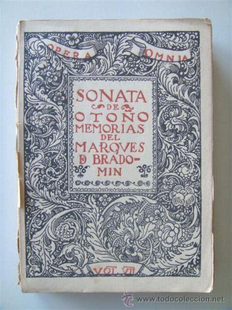 libro sonata de otono volume valle incl 225 n ram 243 n del sonata de oto 241 o memor comprar en todocoleccion 26682478