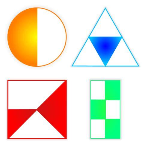 figuras geometricas fracciones figuras y fracciones planetapi