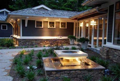 home landscape lighting design fuentes de jard 237 n 100 modelos de espect 225 culos acu 225 ticos