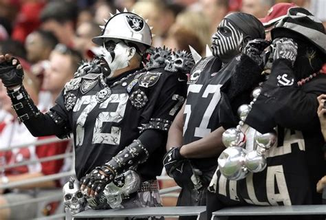 oakland raiders fan experience oakland raiders there is only 1 nation pinterest