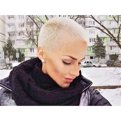 shaved head to hide graying hair the 25 best ideas about buzz cut women on pinterest