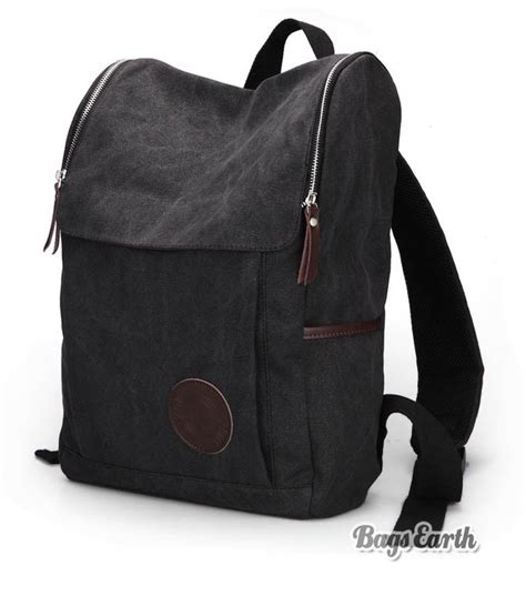 Canvas Backpack Black coffee canvas backpack for black canvas knapsacks