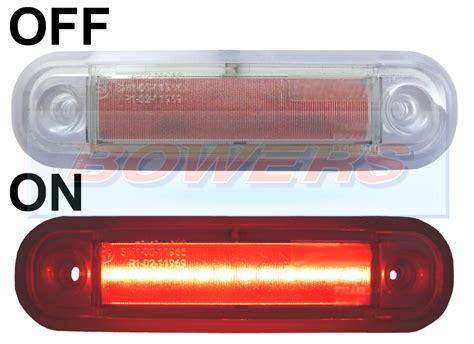 surface mount led lights 12v 12v 24v surface mount red led rear marker l light