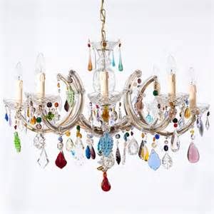 multi coloured chandelier multi coloured the vintage chandelier company