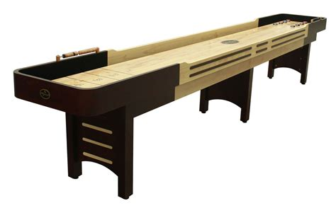 14 espresso playcraft coventry shuffleboard table