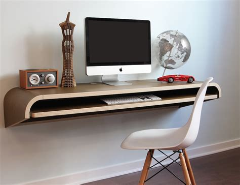 minimal desk minimal float wall desk by orange22 multi use